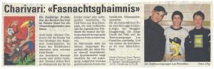 Bericht im Baslerstab 2002
